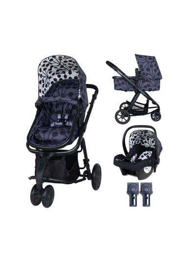 Cosatto Giggle 2 in 1 Pushchair Bundle with Car Seat Lunaria
