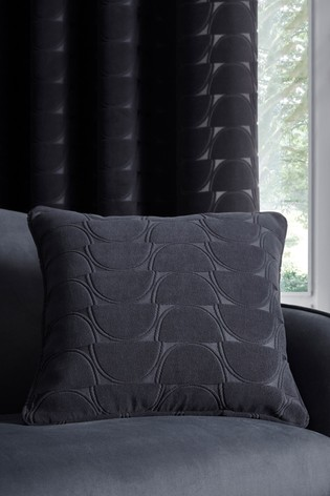 Studio G Black Lucca Geo Cushion