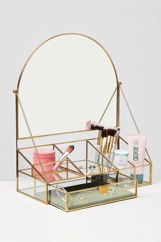 Oliver Bonas Arch Dressing Table Mirror
