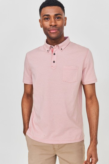 White Stuff Truro Stripe Polo Shirt