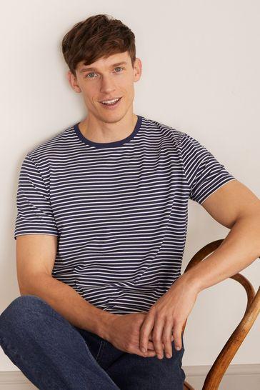 Boden Blue Washed T-Shirt