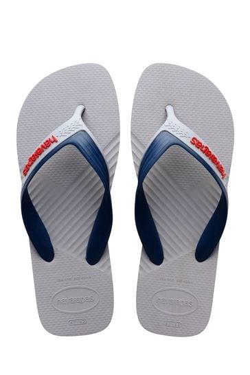 Havaianas Grey Casual Flip Flops