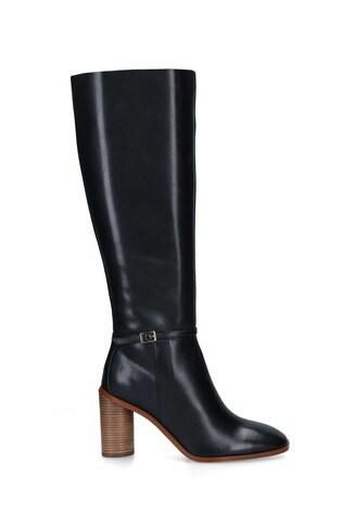 Kurt Geiger London Black Ruby Knee Boots