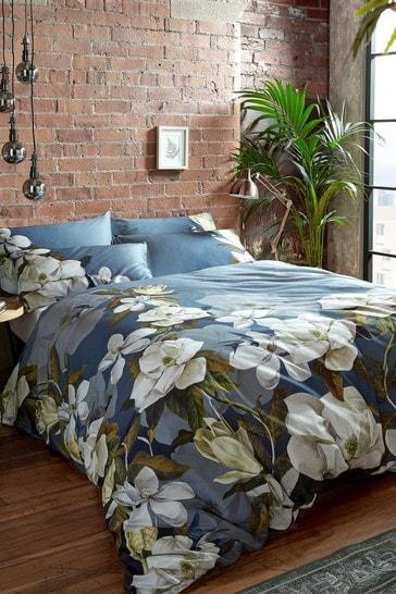 Ted Baker Navy Opal Floral Duvet Cover