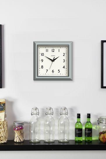 Jones Clocks Mustard Wall Clock
