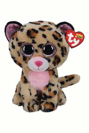 TY Livvie Beanie Boo Medium 10 Inch Soft Toy