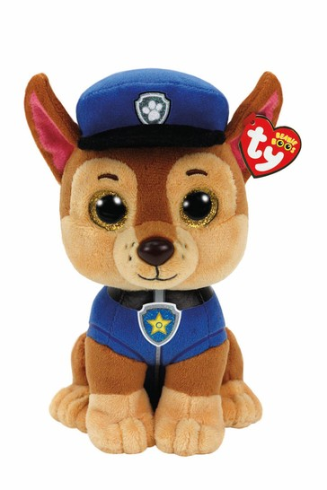 TY PAW Patrol Chase Medium 10 Inch Soft Toy