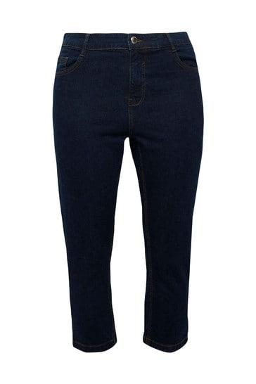 Evans Blue Crop Denim Jeans