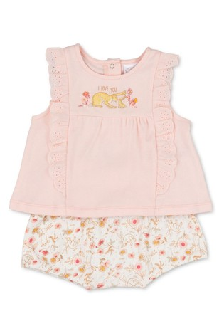 Guess How Much I Love You Pink 2 Piece Top & Short Set