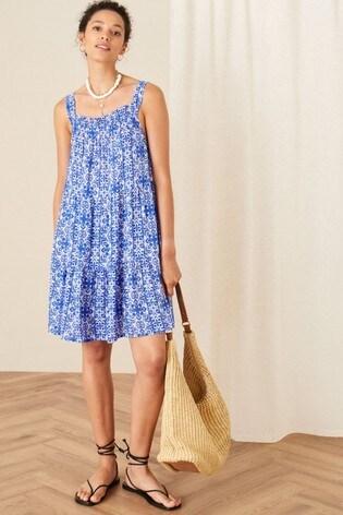 Monsoon Zuri Printed Dress in LENZING™ ECOVERO™