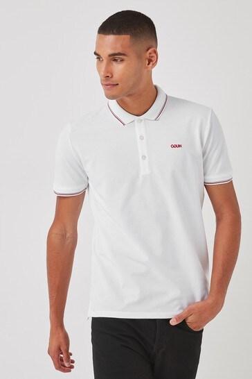 HUGO White Dinoso Polo