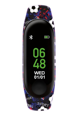 Tikkers Blue Sports Activity Tracker Watch with Colour Touch Screen