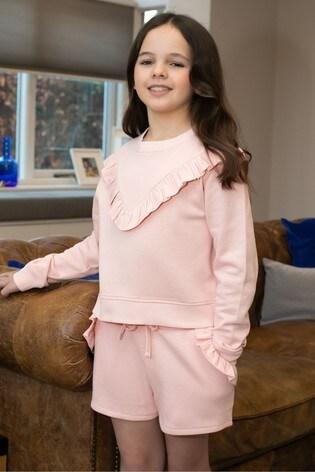 Threadgirls Pink Frill Sweatshirt