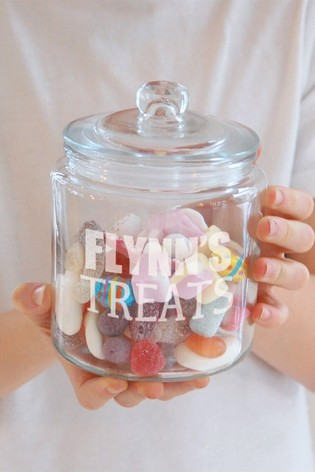 Personalised Glass Jar by Oh So Cherished