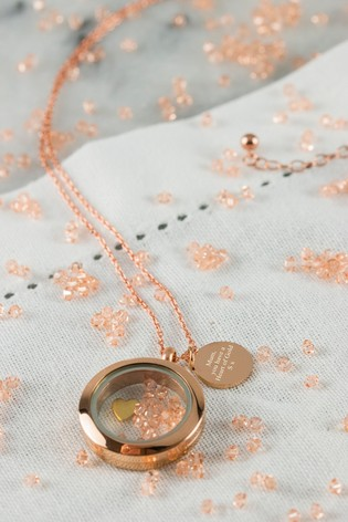 Personalised Heart Of Gold Necklace by Oh So Cherished