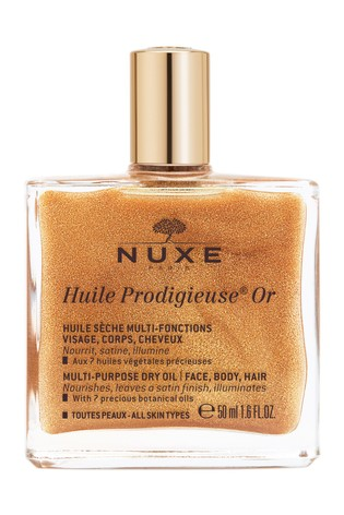 Nuxe Huile Prodigieuse® Or Golden Shimmer Multi-Purpose Dry Oil for Face, Body and Hair 50ml