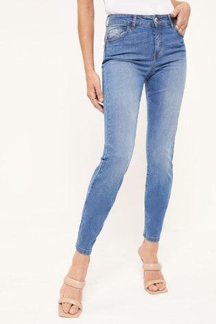 Lipsy Mid Blue Lift and Shape Jean