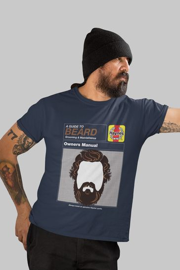 All + Every Blue Beard Workshop Manual Men's T-Shirt