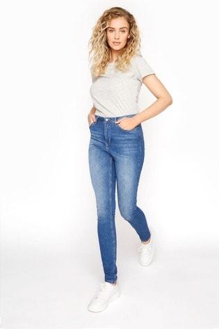 Long Tall Sally Blue Indigo Ultra Stretch Bootcut Jeans