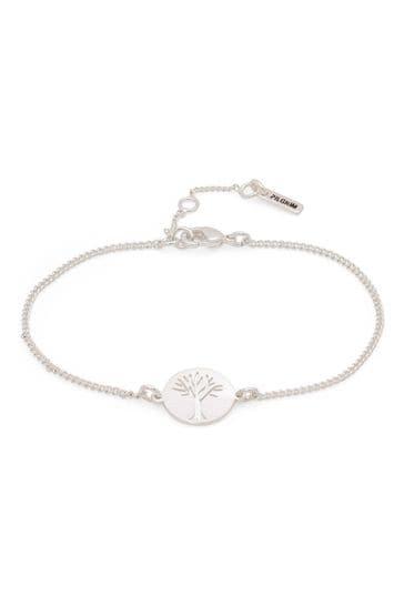 PILGRIM Silver Plated Tree of Life Elin Bracelet
