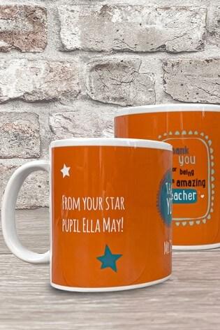 Personalised Amazing Teacher Mug Gift by Izzy Rose