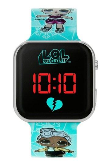 LOL Surprise Blue Strap LED Watch