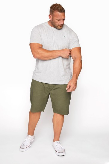 BadRhino Green Rugby Short