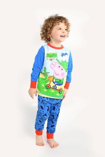 Brand Threads Blue George Pig Boys Pyjamas