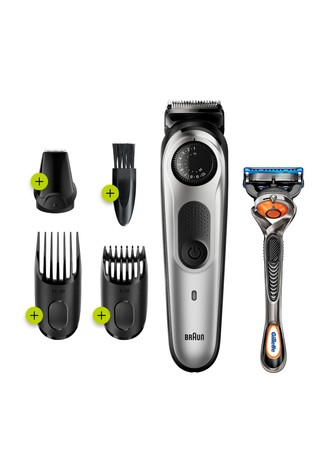 Braun Beard Trimmer BT5260, Beard Trimmer and Hair Clipper for Men, 39 Length Settings