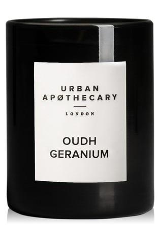 Urban Apothecary 70g Oudh GeraniumLuxury Candle