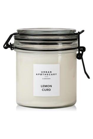 Urban Apothecary 250g Lemon Curd Kilner Jar Candle
