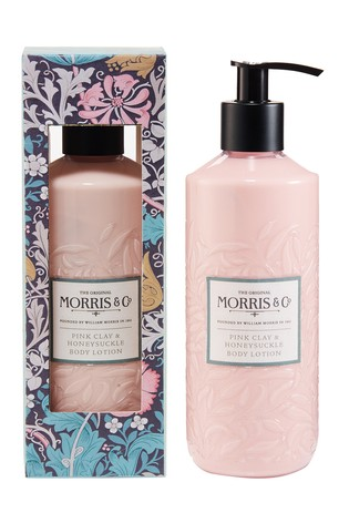 Morris & Co. Pink Clay and Honeysuckle Body Lotion 320ml