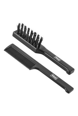 Proraso Moustache Comb & Beard Brush Set