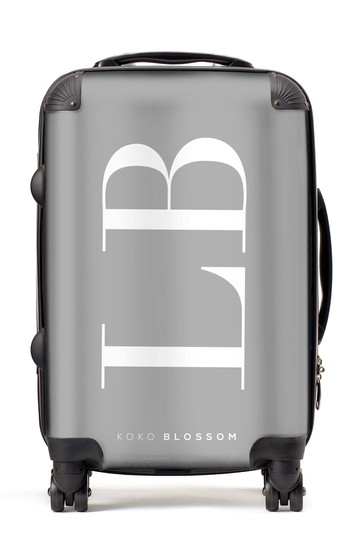 Personalised Large Initial Suitcase By Koko Blossom