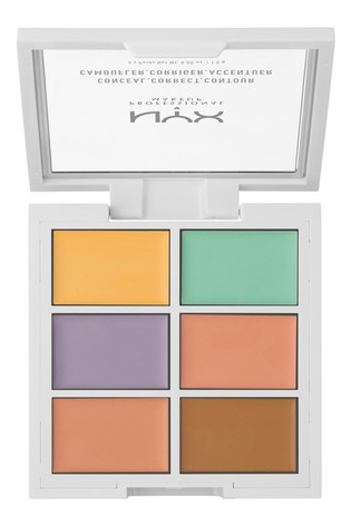 NYX Professional Make Up 3C Colour Correcting Palette Concealer