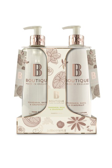 Boutique from The English Bathing Company Hand Care Duo Set 2x500ml