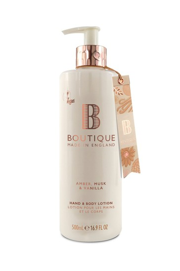 Boutique from The English Bathing Company Hand & Body Lotion 500ml