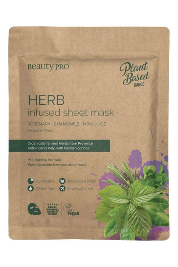 BeautyPro Herb Infused Sheet Mask 22ml