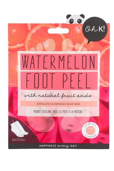 Oh K! Watermelon & Citrus Foot Peel