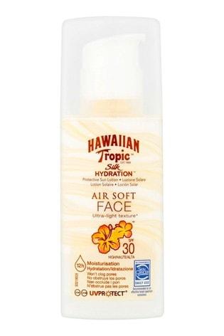 Hawaiian Tropic Silk Hydration Protective Sun Lotion Air Soft Face SPF 30 50ml