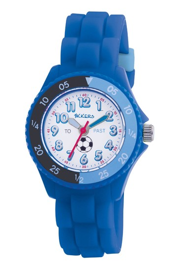 Tikkers Blue Time Teacher Kids Watch With Plastic Casing