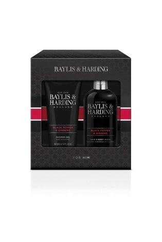 Baylis & Harding Signature Men's Black Pepper & Ginseng 2 Piece Set