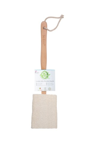 So Eco So Eco Loofah with Wooden Handle
