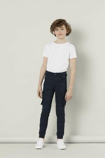 Name It Navy Boys Cargo Trouser