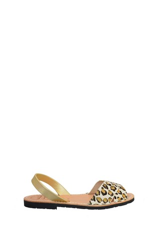 Palmaira Sandals Cream Nubuck Crossover Peeptoe Sandal