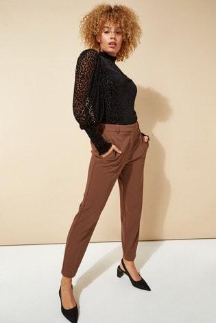 Roman Brown Regular Originals Straight Leg Tapered Trouser