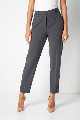 Roman Grey Regular Originals Straight Leg Tapered Trouser