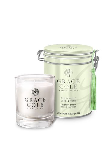 Grace Cole Grapefruit Lime and Mint Candle 200g