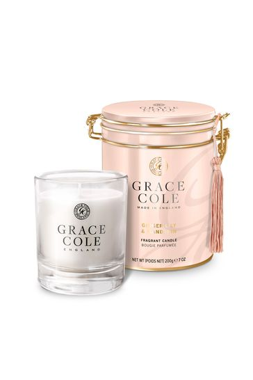Grace Cole Ginger Lily and Mandarin Candle 200g