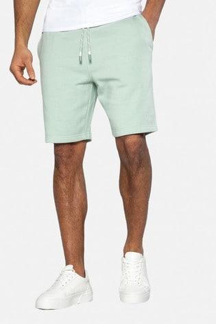Threadbare Green Bergamot Sweat Shorts